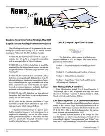 2001 news from nala cv