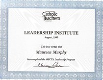 Leadership inst. cv