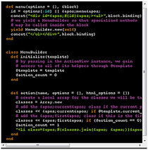 Code snippet cv
