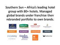 Southern sun %e2%80%93 africa%e2%80%99s leading hotel group with cv