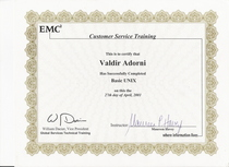 Emc2 certification ii cv