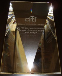 Citi award cv
