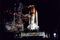 Columbia shuttle launch 1 jan 86 cv