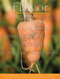 Flavor magazine cover cv