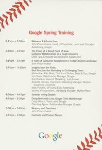 Googlespringtraining cv