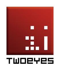 Twoeyes logo update rgb white cv