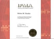 Ifma membership certificate cv