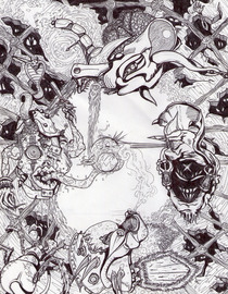 Drawing cv