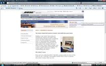 Www.bose.com builtinvisible website cv