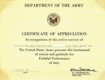 Armycertofappreciation cv