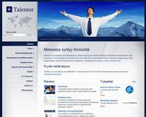 Talentor homepage cv