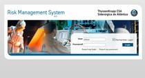 Portfolio thyssenkrupp   risk management system development cv