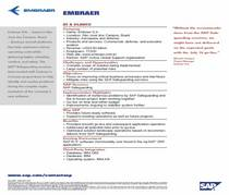 Portfolio embraer sap r3 project cv