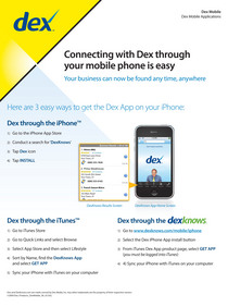 Dex mobile 2pager 1 cv
