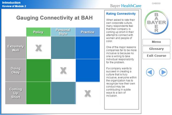 Bayer inclusion screen capture cv