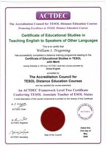 Actdec certificate cv