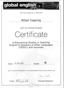 Global english cv