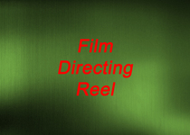 Photoshop logo green background film directing cv