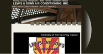 Lewis and sons website cv