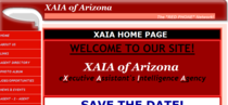 Xaia of arizona website cv