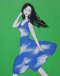 Sky dress cv