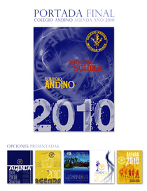 Portadas agenda andino junio 2009 cv