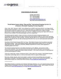 Wme press release 1 cv