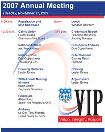 2007 ann mtg agenda 2 cv