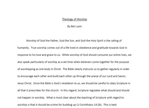 Theology screenshot cv