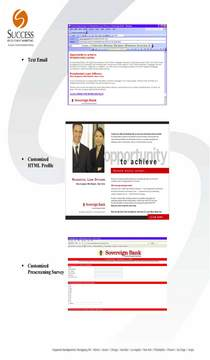Sovereign bank email marketing case history.success page 2 cv