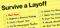 Art survive a layoff cv
