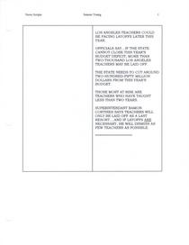 News scripts front cv