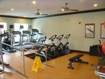 Fitness center ramp cv