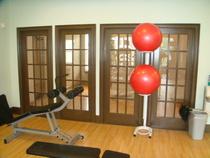 Fitness center fixed doors cv