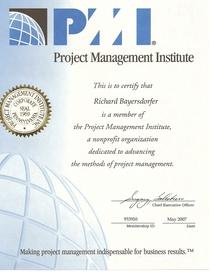 Pmi certificate cv