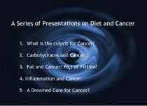 Diet and cancerd cv