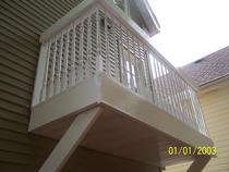 Balcony rebuild cv
