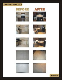 Before and after kitchen pics  cv