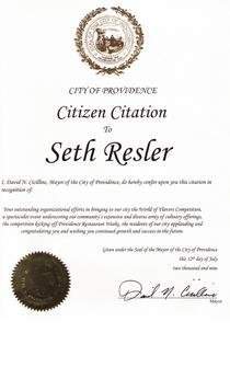 Cicilline proclamation cv