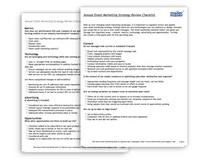 Checklist image cv
