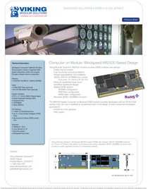 Mindspeed m82530 processor based com product brief 1 copy cv