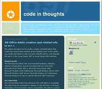 Tech blog cv
