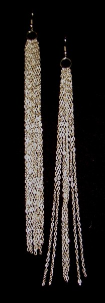 Dangle earrings   silver cv