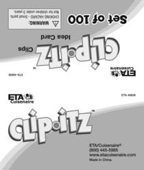 40838 clip itz card 1 cv