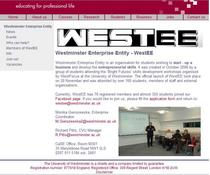 Westee website cv