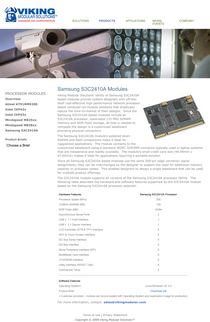 Viking modular solutions samsung s3c2410a website cv