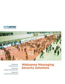 Websense messaging security brochure cover cv