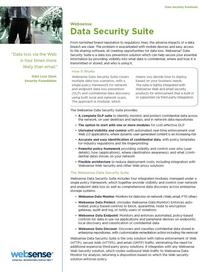 Data security datasheet cover cv