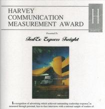 Advertising award cv