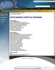 Emmy award nominations cv